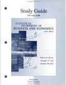 Study Guide for use with Statistical Techniques in Business and Economics by Douglas A. Lind, Robert D. Mason, William G. Marchal