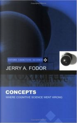 Concepts by Jerry A. Fodor