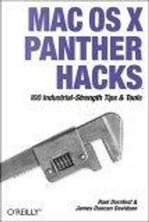 Mac OS X Panther Hacks by James Duncan Davidson, Rael Dornfest