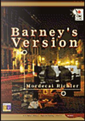 Barney's Version by Mordecai Richler
