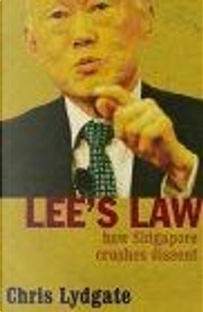 Lee's Law by Chris Lydgate