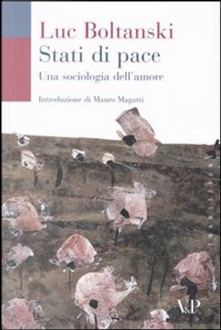 Stati di pace by Luc Boltanski