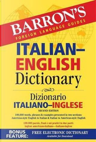 Italian-English dictionary by Barron's