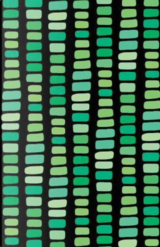 Bullet Journal Abstract Rectangles In Green by Maz Scales