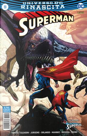 Superman #9 by Dan Jurgens, Patrick Gleason, Peter J. Tomasi, Steve Orlando