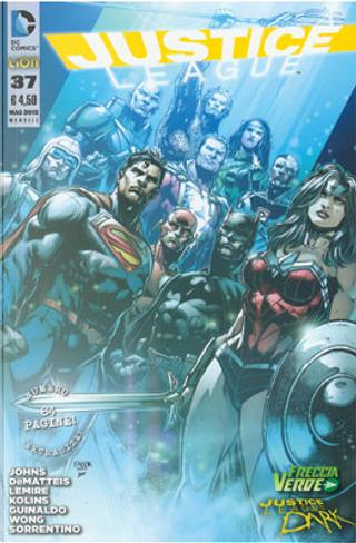 Justice League n. 37 by Geoff Jones, J. M. DeMatteis, Jeff Lemire