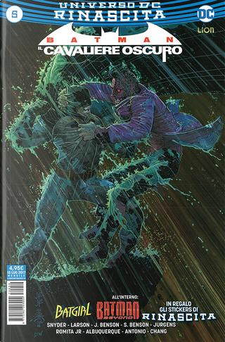 Batman: Il cavaliere oscuro #5 by Dan Jurgens, Hope Larson, Julie Benson, Scott Snyder, Shawna Benson