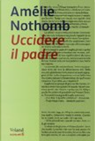 Uccidere il padre by Amelie Nothomb