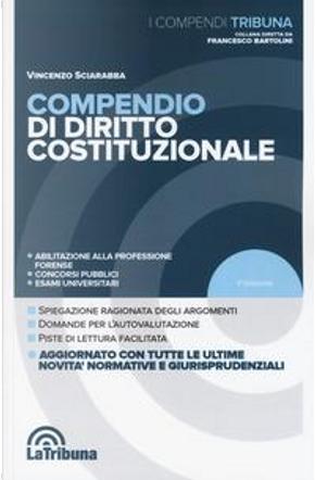 Compendio di diritto costituzionale by Vincenzo Sciarabba