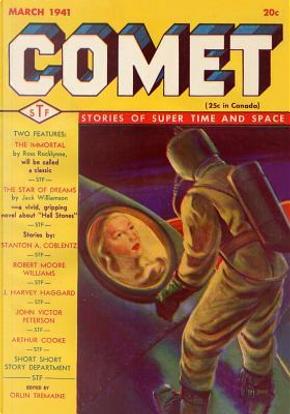 Comet January 1940 by Ross Rocklynne