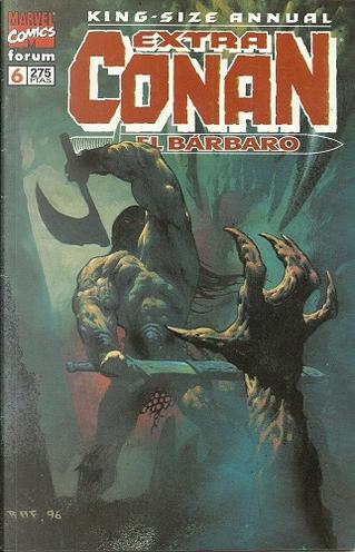 Extra Conan el Bárbaro #6 by John Buscema, Ricardo Villamonte, Roy Thomas, Armando Gil, Danny Bulanadi