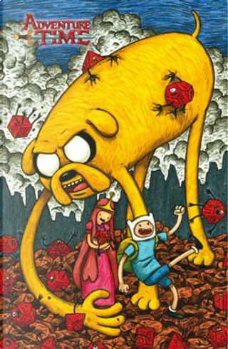 Adventure Time vol. 1 - Cover Variant pelosa by Aaron Renier, Ryan North, Lucy Knisley, Braden Lamb, Shelli Paroline, Zac Gorman