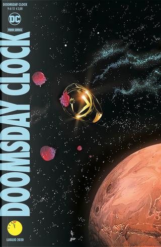 Doomsday Clock n. 9 by Geoff Johns