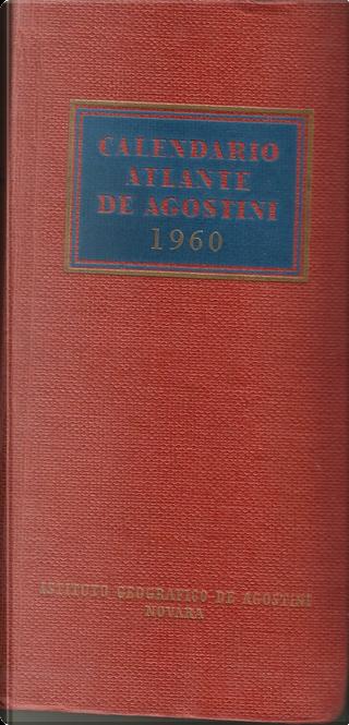 Calendario atlante De Agostini 1960