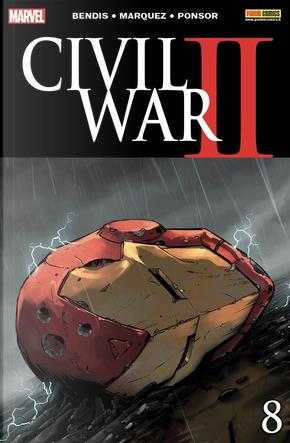 Civil War II #8 by Brian Michael Bendis