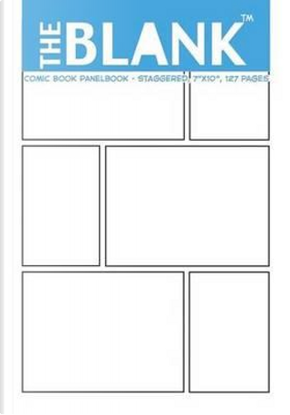 """The Blank Comic Book Panelbook - Staggered, 7""""x10"""", 127 Pages by About Comics"""