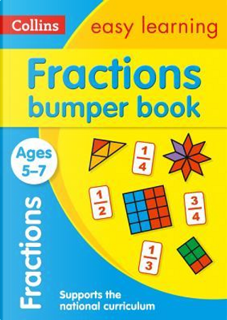 Fractions Bumper Book Ages 5-7 (Collins Easy Learning KS1) by Collins Easy Learning
