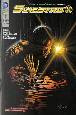 Lanterna Verde presenta: Sinestro n. 3 by Charles Soule, Cullen Bunn