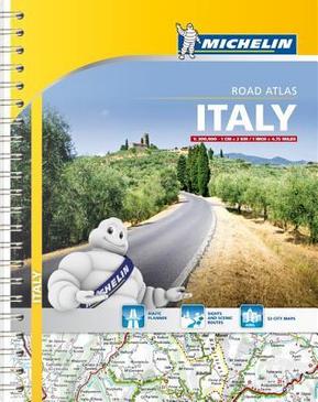 Michelin Italy Road Atlas by Michelin Travel Publications