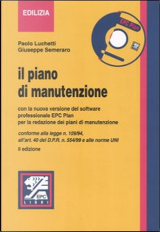 Il piano manutenzione by Giuseppe Semeraro, Paolo Luchetti