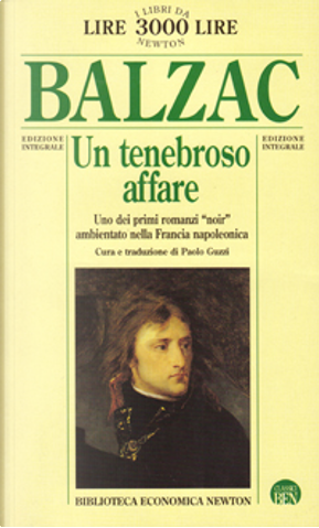 Un tenebroso affare by Honoré de Balzac