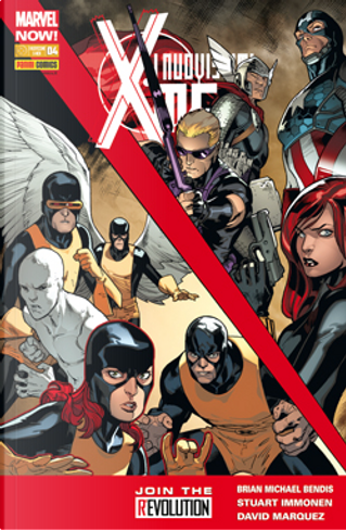 I nuovissimi X-Men n. 4 by Brian Michael Bendis, Craig Yeung, David Marquez, Jorge Molina, Marte Gracia, Norman Lee, Rachelle Rosenberg, Simon Spurrier, Walden Wong