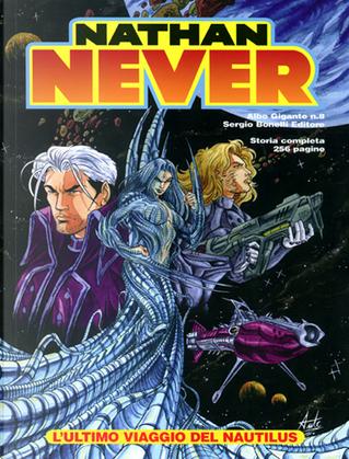 Nathan Never Albo Gigante n. 8 by Stefano Vietti