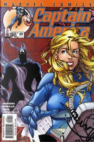 Captain America Vol.3 #49 by Dan Jurgens