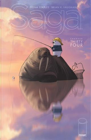 Saga #34 by Brian K. Vaughan