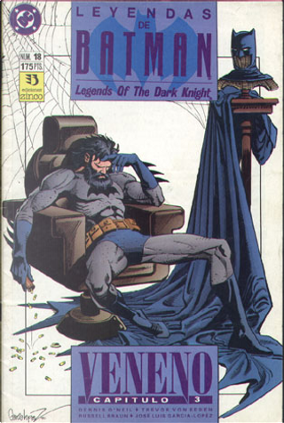 Leyendas de Batman #18 (de 44) by Alan Grant, Dennis O'Neil