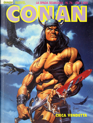 Conan la spada selvaggia n. 76 by Michael Fleischer, Alan Zelenetz, Charles Dixon, Don Kraar
