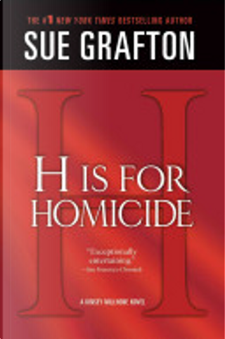"""""""H"""" Is for Homicide by Sue Grafton"""