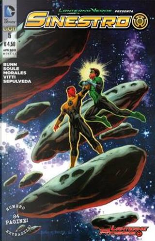 Lanterna Verde presenta: Sinestro n. 5 by Charles Soule, Cullen Bunn