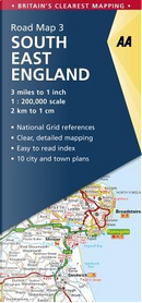 Aa South East England Road Map by Automobile Association (Great Britain)