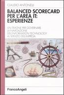 Balanced scorecard per l'area IT: esperienze by Claudio Antonelli