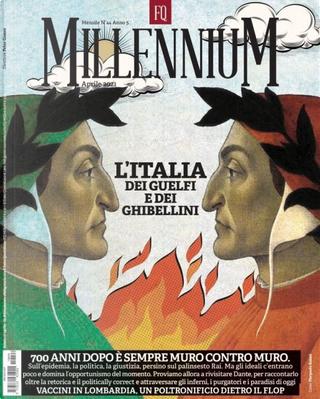 FQ Millennium n. 44, anno V, aprile 2021 by Antonio Padellaro, Francesco Casula, Luca Sommi, Marco Travaglio, Mario Portanova, Nanni Delbecchi, Peter Gomez