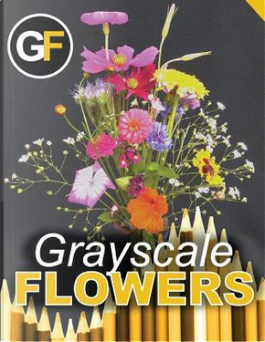 Grayscale Flowers - Bouquet by Not Available