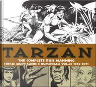Tarzan. Strisce giornaliere e domenicali by Russ Manning