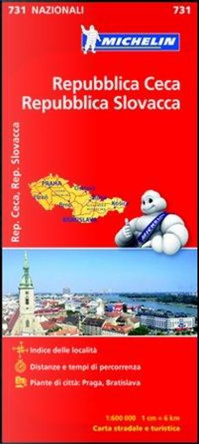 Repubblica Ceca, Repubblica Slovacca 1 by Michelin Italiana