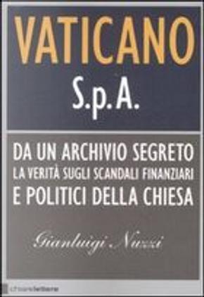 Vaticano S.p.A. by Gianluigi Nuzzi