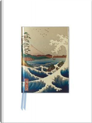 Sea at Satta by Hiroshige Foiled Pocket Journal by Flame Tree