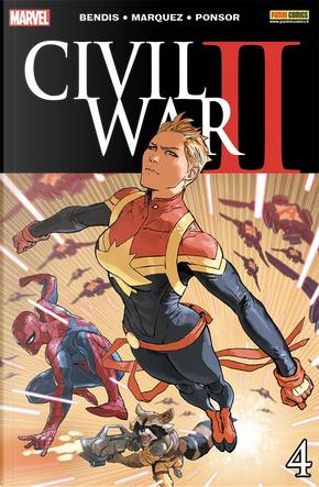 Civil War II #4 by Brian Michael Bendis, Derek Landy, John Allison