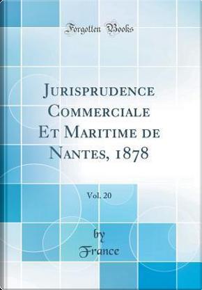Jurisprudence Commerciale Et Maritime de Nantes, 1878, Vol. 20 (Classic Reprint) by France France