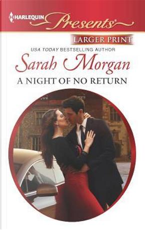 A Night of No Return by Sarah Morgan