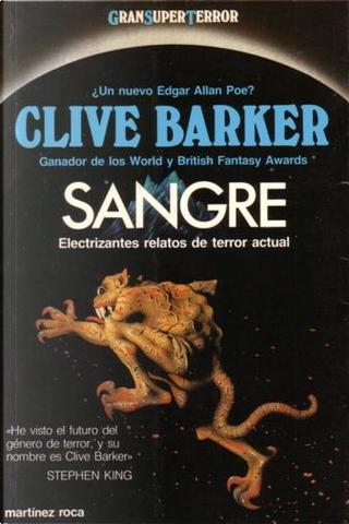 Sangre by Clive Barker
