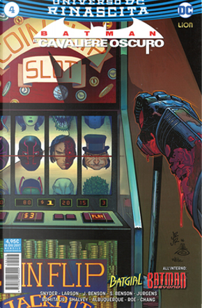 Batman: Il cavaliere oscuro #4 by Dan Jurgens, Hope Larson, Julie Benson, Scott Snyder, Shawna Benson
