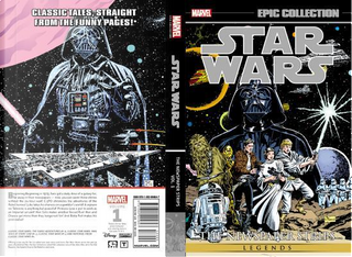 Epic Collection Star Wars Legends The Newspaper Strips 1 by Russ Manning