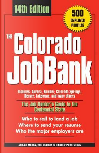 The Colorado Jobbank by Not Available