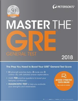 Peterson's Master the GRE 2018 by Peterson's