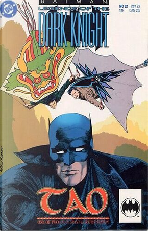Batman: Legends of the Dark Knight n. 52 by Alan Grant